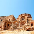 Detail of the church of Ayia Sophia in the upper town of Monemvasia